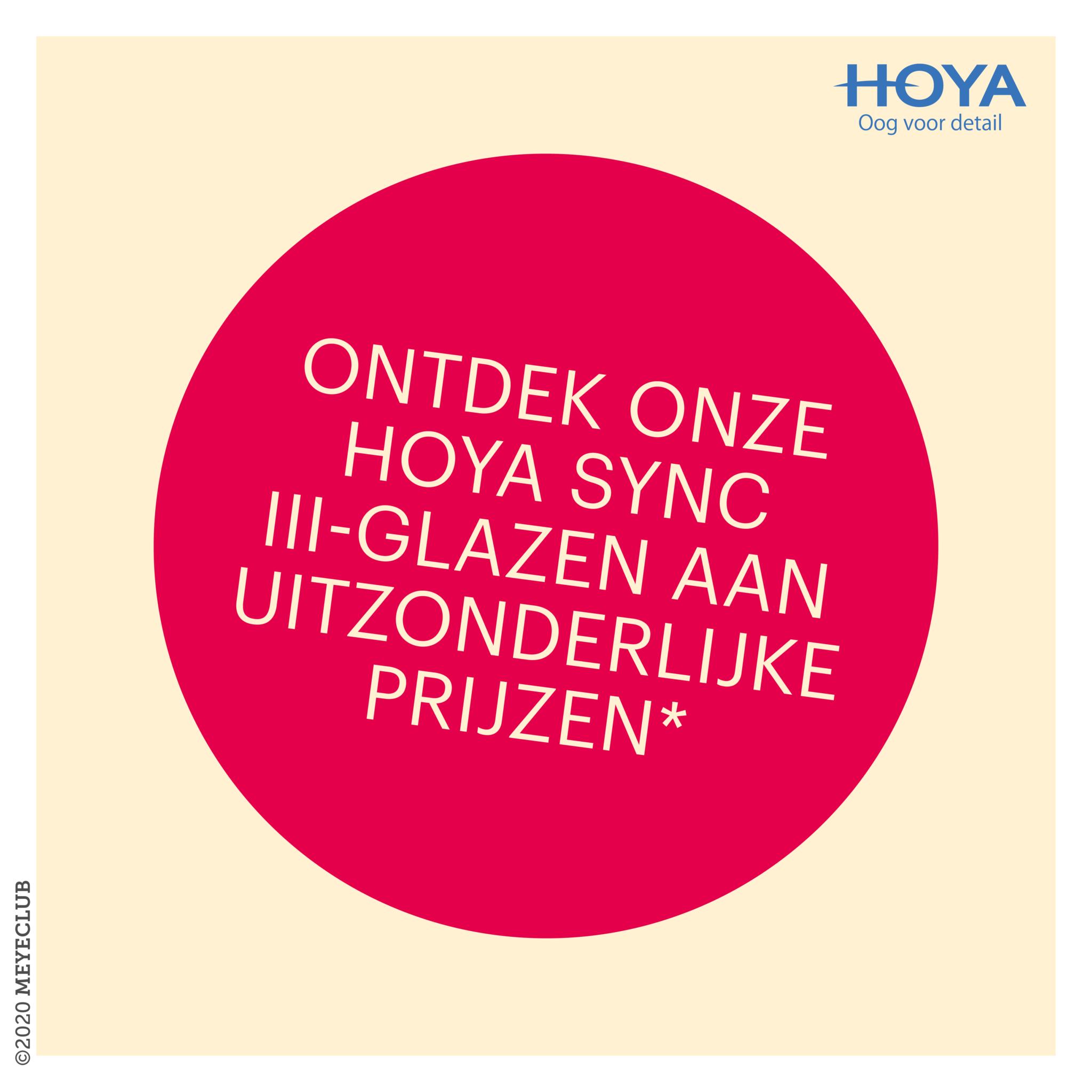 HOYA Sync III-glazen