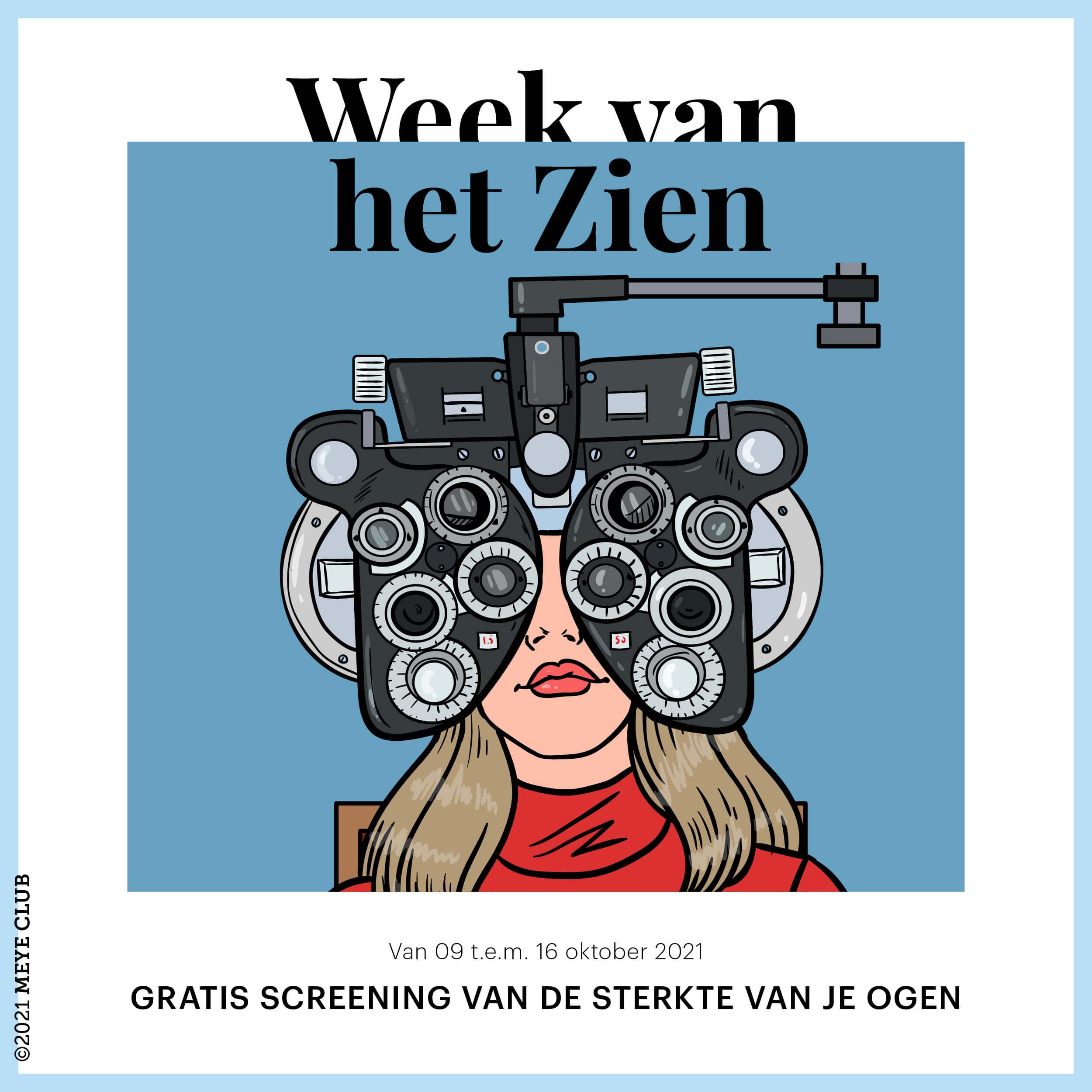 Gratis screening van de sterkte van de ogen*